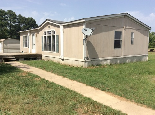 Double Wide Mobile Homes: 2002 Palm Harbor Two Bed Two Bath Doublewide  Mobile Home